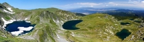 Six lakes in Rila Mountain Bulgaria