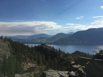 Skaha Bluffs in the Okanagan of british columbia