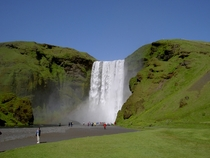 Skgafoss waterfall in Iceland