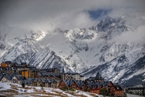 Ski village of Formigal in the Aragon Pyrenees of northeastern Spain
