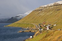 Skipanes and Undir villages in Faroe Islands