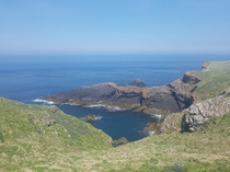 Skomer Island South West Wales UK A remote island with a large puffin colony and amazing views