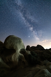 Skull Rock - Joshua Tree