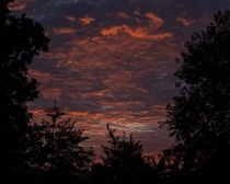 Sky on fire Tettenhall Wolverhampton UK Just as it came out of the camera  x  OC