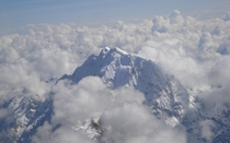 Sky View of a Mountain in the Andes of Peru