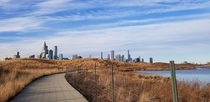 Skyline from Northerly Island Chicago IL
