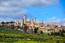 Skyline of San Gimignano Italy