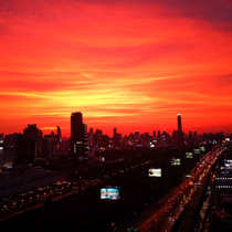 skyporn on nye in Bangkok