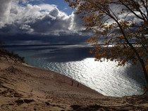 Sleeping Bear Dunes National Lakeshore Empire Michigan