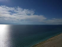 Sleeping Bear Dunes National Lakeshore Overlook