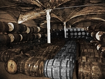 Sleeping Whiskey Barrels St Andrews Scotland