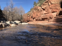 Slide Rock State Park in Sedona AZ OC