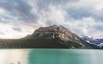 Slightly less seen angle of Lake Louise Alberta OC