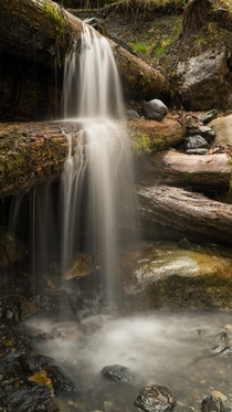 Small Forest Waterfall Chilliwack BCOC