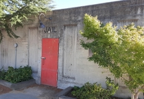 Small Jail Anderson California