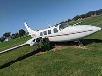 Small plane thats been parked and abandoned since the early s- owner unknown- Manheim PA