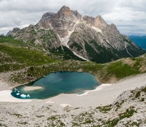 Small Pond in the Mountains of Northern Italy