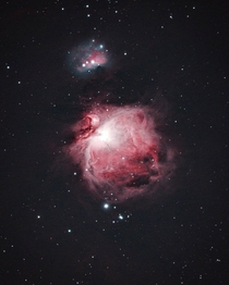 Small Telescope  DSLR   Minutes Under Light Polluted Skies  An Ever Beautiful Orion Nebula
