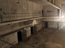 Smaller gymnasium found deeper into abandoned high school