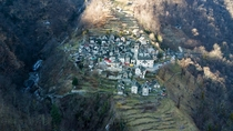 Smallest village in Switzerland - Corippo