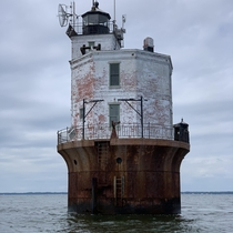 Smith Point Lighthouse Chesapeake Bay