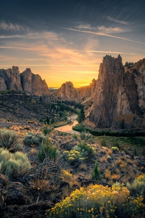 Smith Rock State Park Oregon   IG holysht