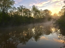 Smoke on the water - Murder Creek GA