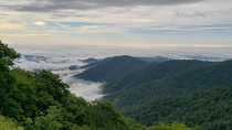 Smokey Mountains in the morning NC