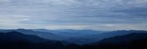Smokey Mountains just before sunrise