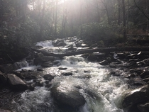 Smokey Mountains river  x