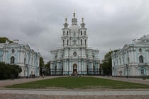 Smolny Convent St Petersburg Russia