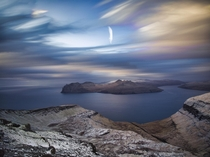 Smooth skies taken from Kuplunum Faroe Islands  httpswwwinstagramcomka_fokk