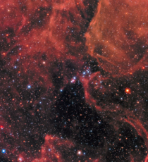 SN A supernova remnant and its surroundings This supernova was the first time modern astronomers could study a core-collapse supernova in great details giving insights into the mechanisms behind them