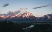 Snake River Overlook at Grand Teton National Park