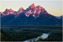 Snake River Overlook Grand Teton National Park Wyoming