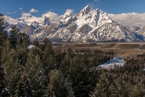 Snake River Overlook in Grand Teton National Park WY