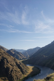 Snapped on my hike out of Hells Canyon Snake River Idaho