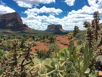 Snapped this postcard type landscape on vacation in Sedona AZ