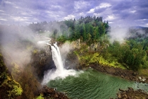 Snoqualmie Falls Fall City Washington