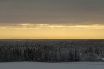 Snow day for schools in Fairbanks today - Heres looking out over the Tanana Valley from UAF yesterday