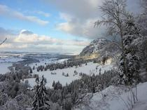 Snow in Bavaria