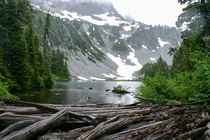 Snow lake at Mt Rainer WAOC  x