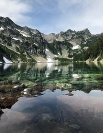 Snow Lake Washington - My friend took this while hiking yesterday
