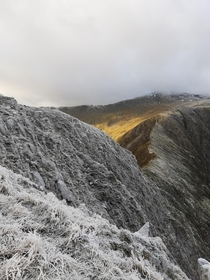 Snowdonias been frosty and sunny and it makes for some amazing scenes