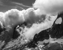 Snowpatch Spire Bugaboo Glacier and the Hounds Tooth in BC