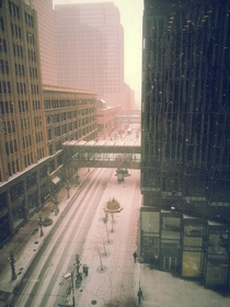 Snowy Minneapolis MN
