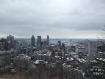 Snowy Montreal Canada