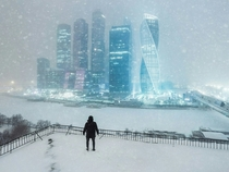 Snowy Moscow