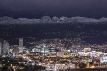 Snowy Mountains Monterrey Mexico