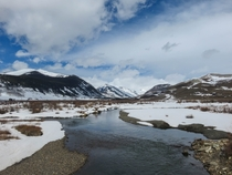 Snowy River in Crested Butte CO